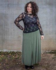 """""""Deena"""" Slide Slit Maxi Skirt"""