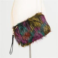 Fashion Faux Fur Handbag