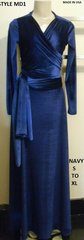 """Snazzy"" Multi Wrap Maxi Dress - Ducci"