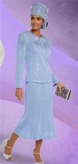 Donna Vinci 13219 Knit Embellished 2pc Suit