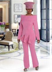 Donna Vinci 11637 2pc Pant Suit