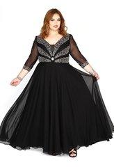Kurves by Kimi Jewel Embellished PlusSize Dress