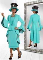 Donna Vinci 11584 Embellished 2pc Suit