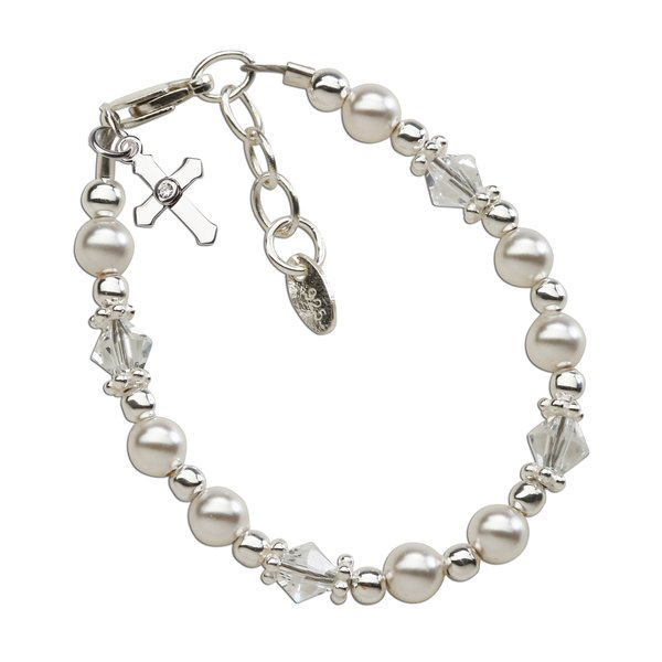 cross baptism pearl store bracelet products freshwater white and sku