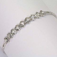 18K W/G Diamond Bracelet