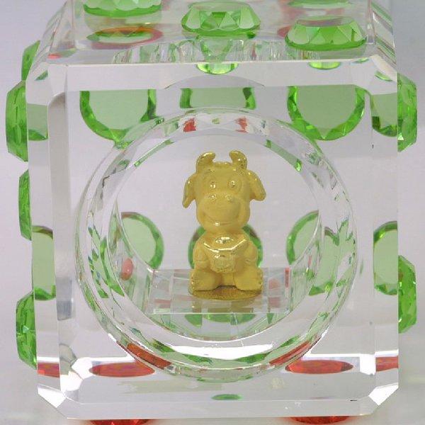 24K Gold Ox Figurine