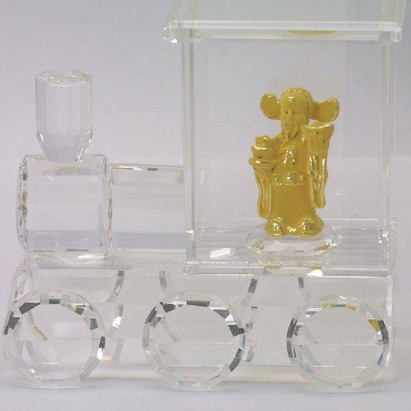 24K Gold Money God Figurine