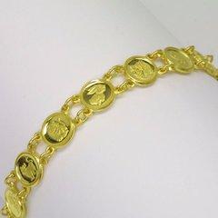 24K Gold Zodiac Bracelet