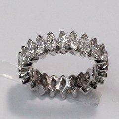 14K W/G Diamond Eternity Ring