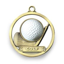 GOLF - GAME BALL MEDALLION