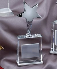STAR CRYSTAL - CRYSTAL AWARDS