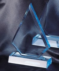 TRIANGLE - LUCITE ACRYLIC AWARDS