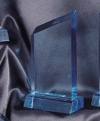 WEDGE - LUCITE ACRYLIC AWARDS