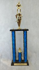 2 PILLAR TROPHY - ANIMAL SERIES (STORE PICK-UP ONLY)