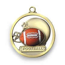 FOOTBALL - GAME BALL MEDALLION