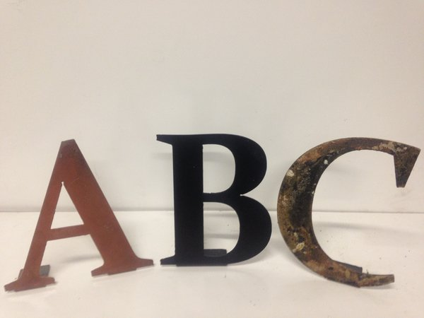 12 Inch Metal Letters Custom 12 Inch Metal Letters And Numbers For Wall Dcor  Cutting