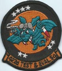 USAF PATCH 422 TEST &EVALUATION SQUADRON