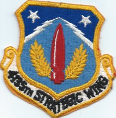 USAF PATCH 4135 STRATEGIC WING (MH)