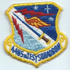 USAF PATCH 4485 TEST SQUADRON