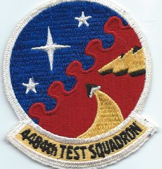 USAF PATCH 4484 TEST SQUADRON
