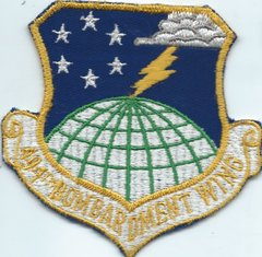 USAF PATCH 494 BOMB WING SHEPPARD AFB (MH)
