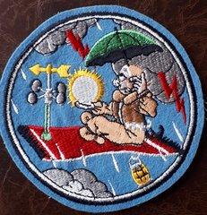 USAF PATCH 53 WEATHER RECONN SQUADRON WB-50 RAF ALCONBURY