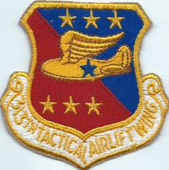 USAF PATCH 313 TACTICAL AIRLIFT WING