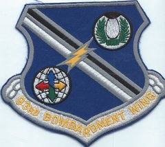 USAF PATCH 93 BOMB WING LARGE (MH)