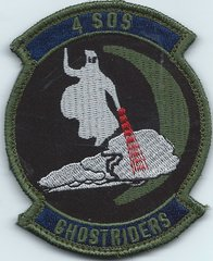 USAF PATCH 4 SPECIAL OPERATIONS SQUADRON CURRENT ISSUE**