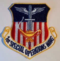 USAF PATCH 1 SPECIAL OPERATIONS WING FULL COLOR CURRENT ISSUE