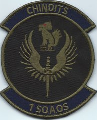 USAF PATCH 1 SPECIAL OPERATIONS AIR OPERATIONS SQUADRON