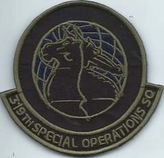 USAF PATCH 319 SPECIAL OPERATIONS SQUADRON ON VELCRO TYPE 2**