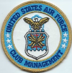 USAF PASTCH 100 SEVICES SQUADRON USAF CLUB MANAGEMENT