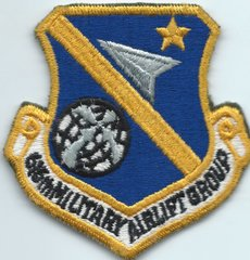USAF PATCH 616 MILITARY AIRLIFT GROUP