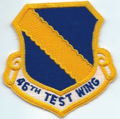 USAF PATCH 46 TEST WING
