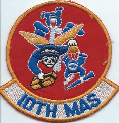USAF PATCH 10 MILITARY AIRLIFT SQUADRON C-23 SHERPA GERMAN MADE