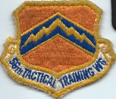 USAF PATCH 56 TACTICAL TRAINING WING USED