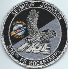 USAF PATCH 336 FIGHTER SQUADRON F-15 STRIKE EAGLE