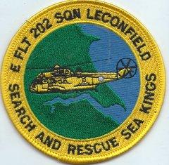 RAF PATCH 202 SQUADRON E FLIGHT LECONFIELD SEARCH AND RESCUE