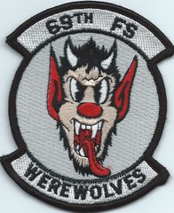 USAF PATCH 69 FIGHTER SQUADRON