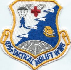 USAF PATCH 435 TACTICAL AIRLIFT WING RHEIN-MAIN