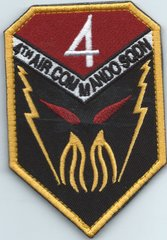 USAF PATCH CURRENT 4 SPECIAL OPERATIONS SQUADRON FRIDAY HERITAGE**