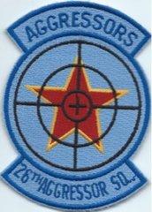 USAF PATCH 26 AGGRESSOR SQUADRON