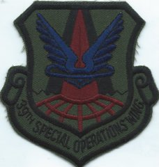 USAF PATCH 39 SPECIAL OPERATIONS WING RAF ALCONBURY