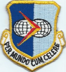 USAF PATCH 912 MILITARY AIRLIFT GROUP (ASSC) PER MUNDO CUM CELCRE