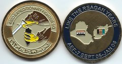 USAF CHALLENGE COIN 492 EXPEDITIONARY FIGHTER SQUADRON AFGHANISTAN / IRAQ AEF 6 2005/ 2006