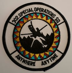 USAF PATCH 302 SPECIAL OPERATIONS SQUADRON