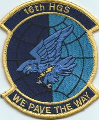 USAF PATCH 16 HELICOPTER GENERATION SQUADRON SPECIAL OPERATIONS**