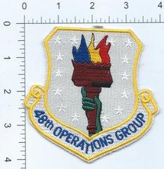USAF PATCH 48 OPERATIONS GROUP RAF LAKENHEATH F-15E F-15C HH-60