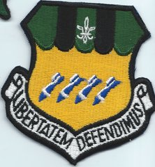 USAF PATCH 2ND BOMBARDMENT WING BARKSDALE AFB. (MH)